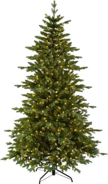 "LED-Weihnachtsbaum""Larvik"" - 600 warmweiße LEDs - H: 210cm - PE/PVC Mix - outdoor"