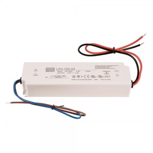 LED Netzteil / Treiber MEANWELL LPV-100-24 - CV - IP67 - 24V - 100W