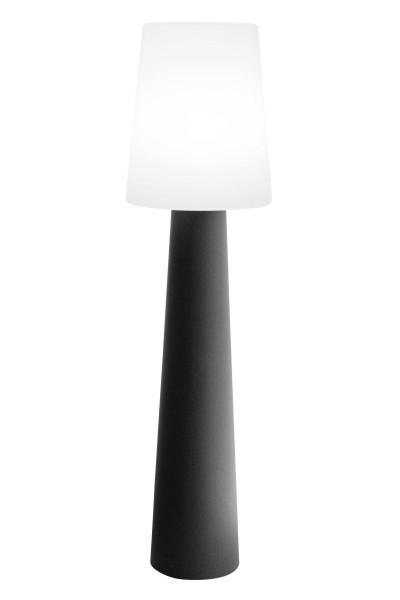 """Outdoor XL Stehlampe No. 1 """"Anthrazit"""" H:160cm - E27 Fassung - Außenleuchte IP44"""
