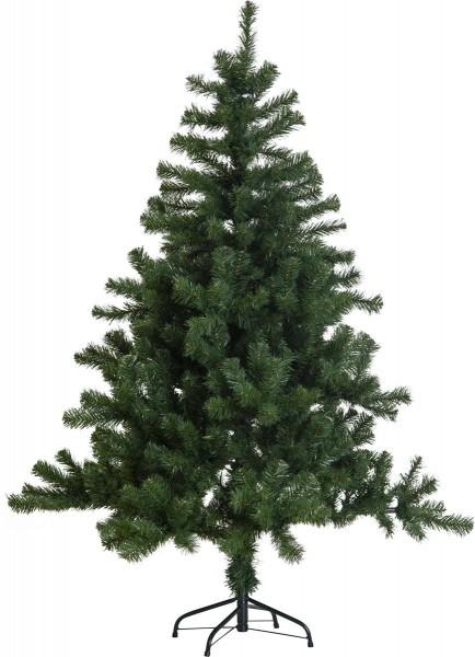 """Weihnachtsbaum """"New Quebec"""" - H: 150cm, D: 105cm - Farbe: grün - mit Metallfuss - outdoor"""