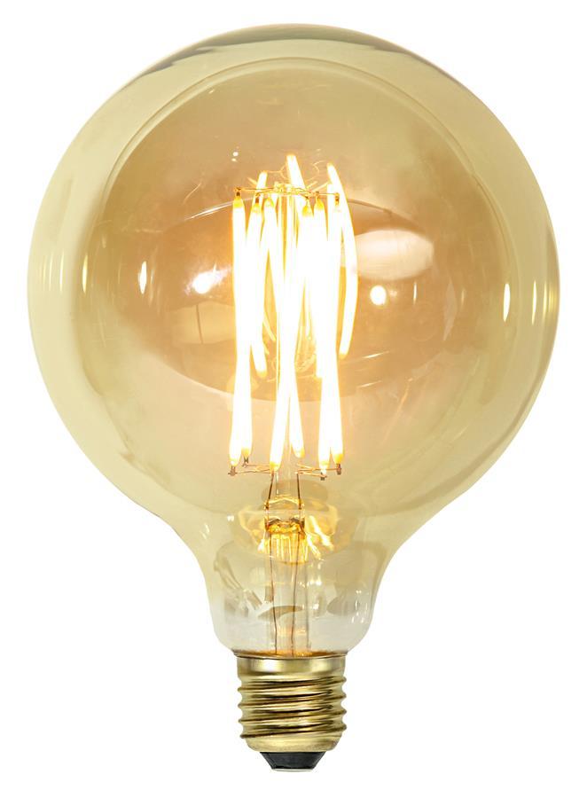 Dimmbar Vintage Leuchtmittel m LED Glühbirne Für E27 Fassung klarem Glas