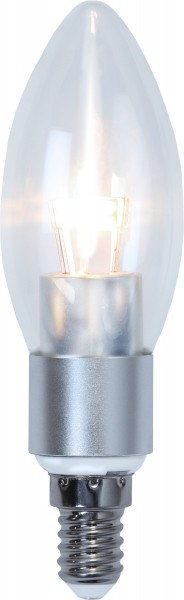 LED Kerzenlampe CRYSTAL C37 - 5W - E14 - warmweiss 2700K - 470lm - dimmbar