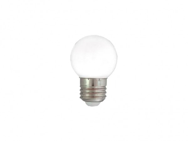LED-Leuchtmittel | G45 - E27 | 1W | Warmweiß 3200 K