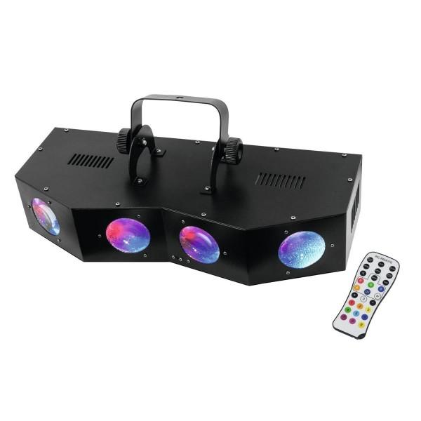 "LED Strahleneffekt ""SCY-400"" Beam-Effekte mit 5 hellen Farben - Fernbedienung - 20 x 3W RGBA LEDs"