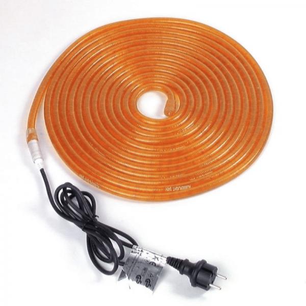 RUBBERLIGHT Lichtschlauch - Outdoor - RL1 - 324 Lampen - 9,00m - anschlussfertig - orange