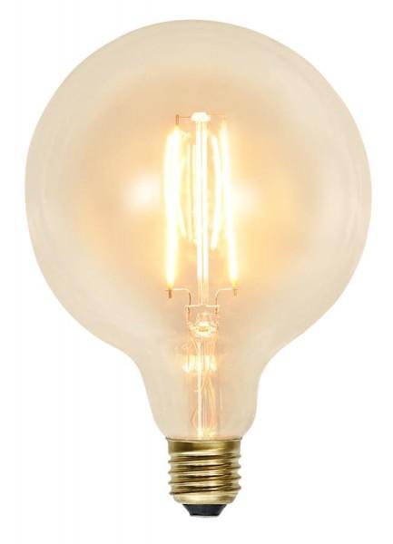 LED GLOBE FILA GLOW G125 - E27 - 2,3W - warmweiss 2100K - 230lm - klar