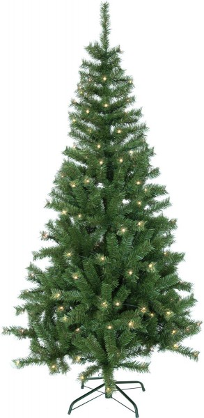 """LED-Weihnachtsbaum """"Kalix Twinkle"""" - 160 warmweiße LEDs - H: 195cm, D: 70cm - grün - 8 Leuchtfunktionen"""
