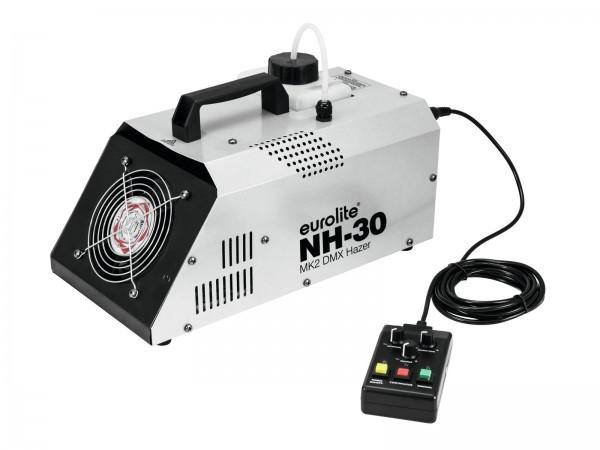 NH-30 MKII Dunstnebelmaschine - (720W) mit Timer, Funkfernsteuerung & DMX