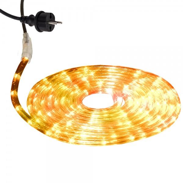 Lichtschlauch ROPELIGHT MICRO | Outdoor | 216 Lampen | 6,00m | Warmweiß