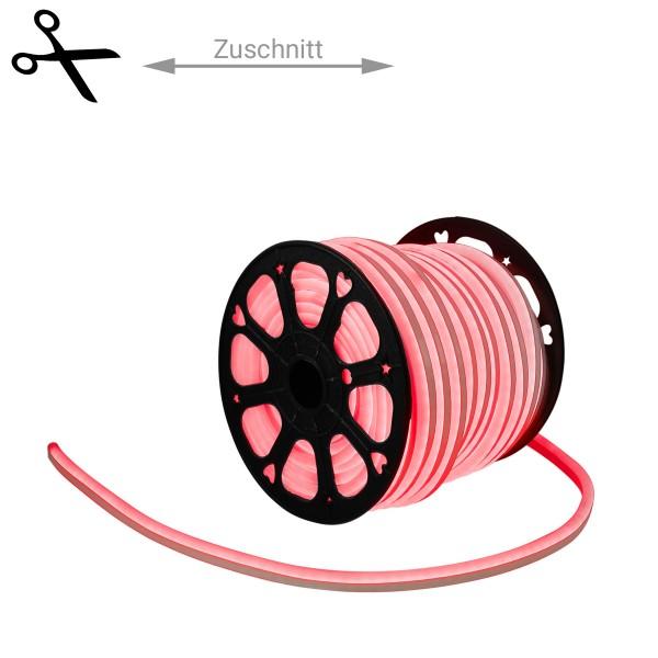LED Lichtschlauch NEON FLEX 230V Slim - ROT - 100cm Zuschnitt - Anfertigung nach Mass