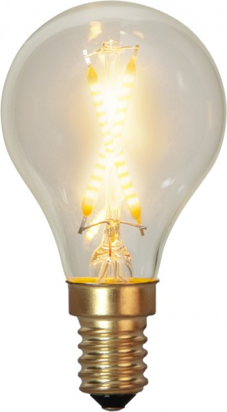 "Decoration LED Tropfenlampe ""Soft Glow"" - E14 - 2100K - 30 Lm 90 Ra - 0,5W"