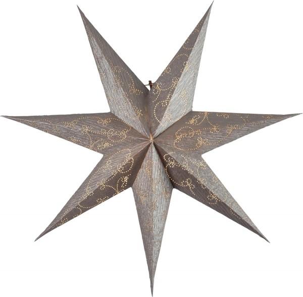 """Papierstern """"Decorus"""" - hängend - 7-zackig - Ø 63 cm - gold"""