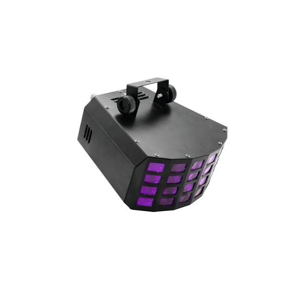 """Strahleneffekt """"D-25"""" mit 6-farbigen, feinen Strahlen - vollautomatische Musiksteuerung"""