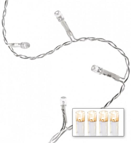 LED-Lichterkette   Serie LED   Outdoor   Transparentes Kabel   warmweiße LED   Controller   7.20m   120x LEDs