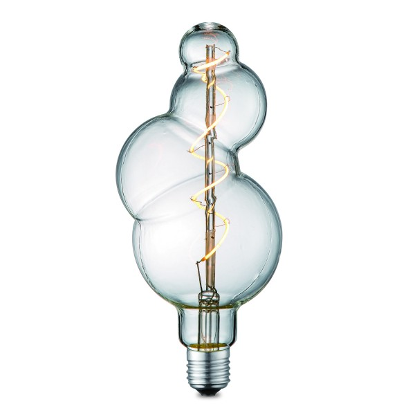 Design LED Leuchtmittel BUBBLE clear - 2200K - E27 - 160lm - dimmbar