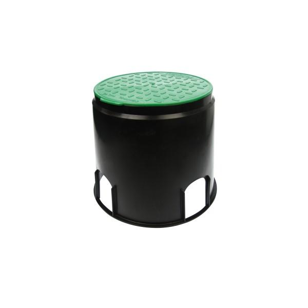 Sicherheits Bodeneinbaudose - IP44 - mit trittfestem Deckel - ø168mm H: 236mm