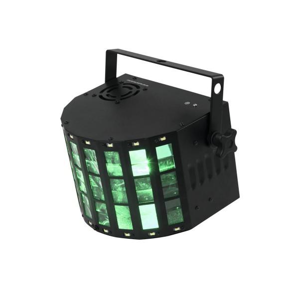 "LED Mini Hybrid Strahleneffekt ""D-20"" - Derby Effekt mit Stroboskop - DMX"