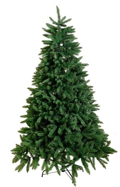 """Weihnachtsbaum """"Calgary"""" - H: 210cm, D: 140cm - Farbe: grün - mit Metallfuss - outdoor"""
