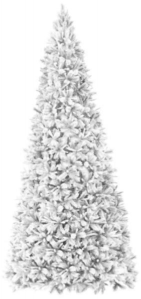 """XXL-Weihnachtsbaum """"Colorado"""" - H: 500cm, D: 235cm - einfacher Aufbau - Farbe: weiss - outdoor"""