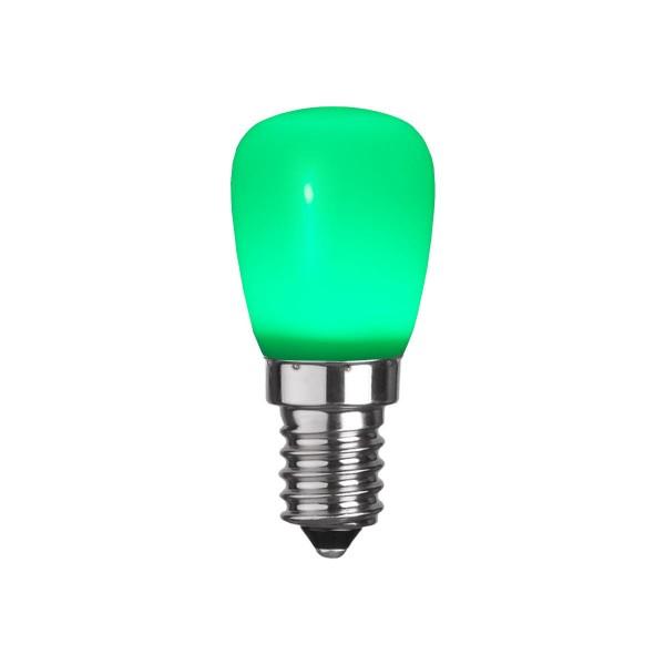 LED Leuchtmittel DEKOLED ST26 grün - E14 - 0,9W - 10lm