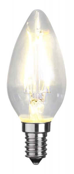 LED Kerzenlampe FILA C35 - E14 - 2W - WW 2700K - 250lm - klar