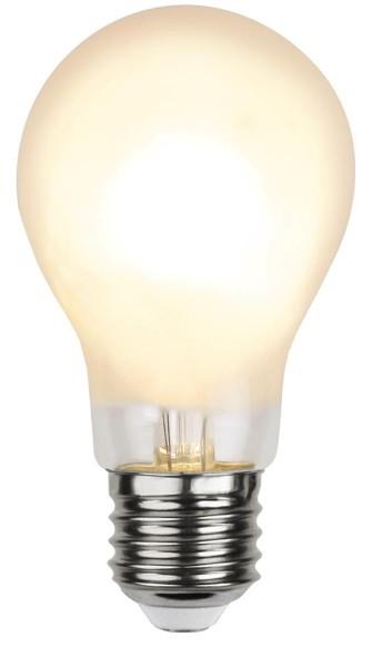 LED Tropfenlampe FILA A60 - E27 - 7W - WW 2700K - 810lm - gefrostet - dimmbar