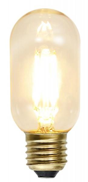 LED Leuchtmittel GLOW - T45 - E27 - 1,3W - warmweiss 2100K - 140lm - dimmbar