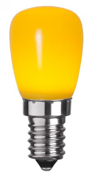 LED Leuchtmittel DEKOLED ST26 gelb - E14 - 0,9W - 13lm
