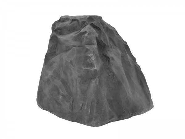 grauer Dekofelsen aus Fiberglas für Kulissenbau - ca. 76x66x60 - grau - Auch für Außen geeignet