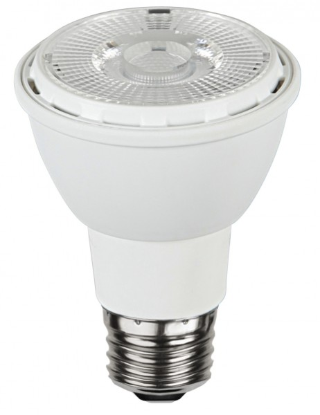 LED SPOT PAR20 - 230V - E27 - 30° - 6,2W - warmweiss 2700K - 450lm