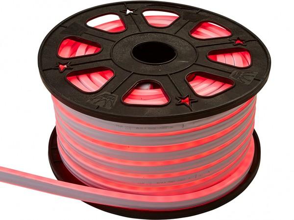 LED-NEON-Lichtschlauch | Zweiseitig | Outdoor | 1800 LED | 30m | Rot