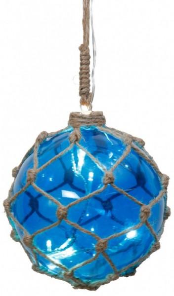 LED-Glaskugel - Noah Line Indoor - Ø 12cm - 8x Warmweiß - Blau