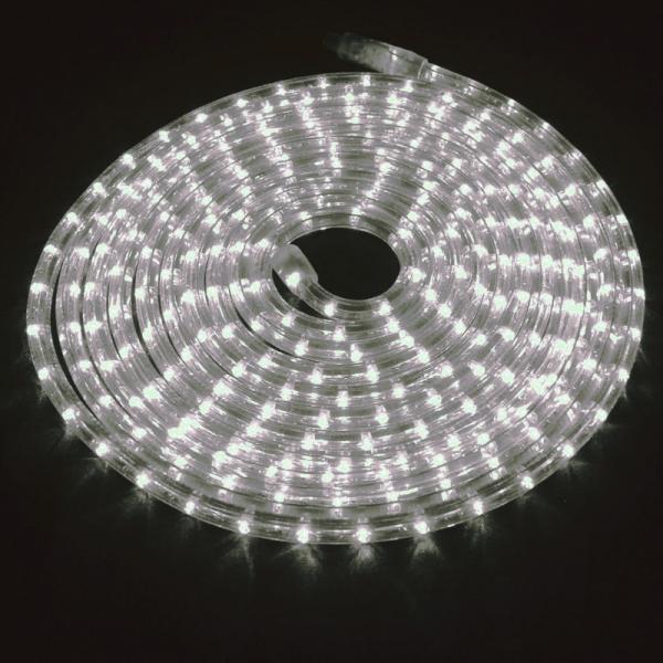 RUBBERLIGHT LED Lichtschlauch - Outdoor - RL1 - 324 LED - 9,00m - anschlussfertig - 3000K - weiß