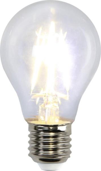 LED Tropfenlampe FILA A60 - E27 - 4W - warmweiss 2700K - 470lm - klar