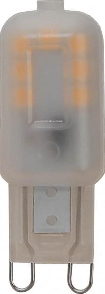 LED Leuchtmittel HALO-LED - 2,3W - G9 - WW 2700K - gefrostet - 180lm - dimmbar