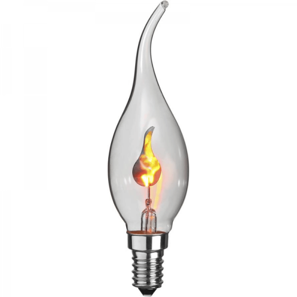 Kerzenlampe flackernd - E14 - 3W - Effektleuchtmittel