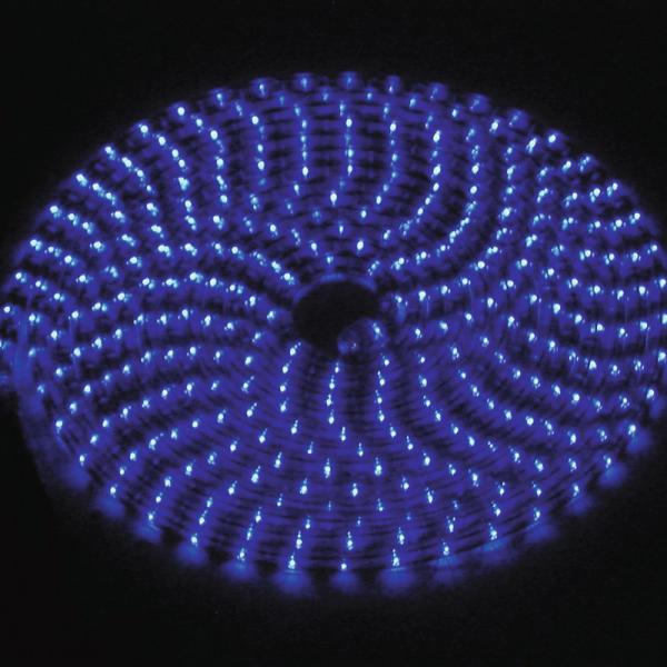 RUBBERLIGHT Lichtschlauch - Outdoor - RL1 - 180 Lampen - 5,00m - anschlussfertig - blau