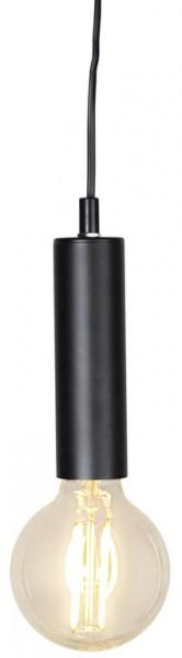 Lampenfassung | GLANS | E27 | 350cm Kabel | Röhre | hängend |Granit-Schwarz