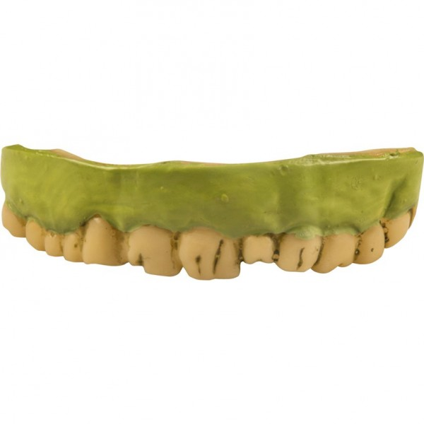 Halloween Kostüm ZOMBIE Zähne aus Soft-Gummi