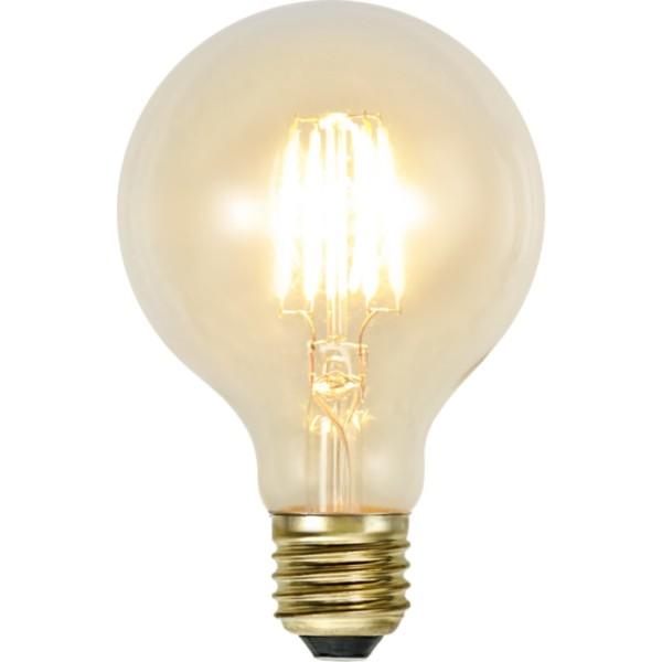 LED GLOBE FILA GLOW G80 - E27 - 1,3W - warmweiss 2100K - 140lm - klar - dimmbar
