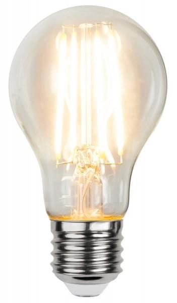 LED Tropfenlampe FILA A60 - E27 - 7W - WW 2700K - 810lm - klar - dimmbar