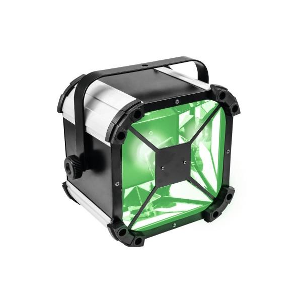 LED Strahleneffekt mit Spiegelablenkung - klassischer Lichteffekt in moderner Technik - 60W COB LED