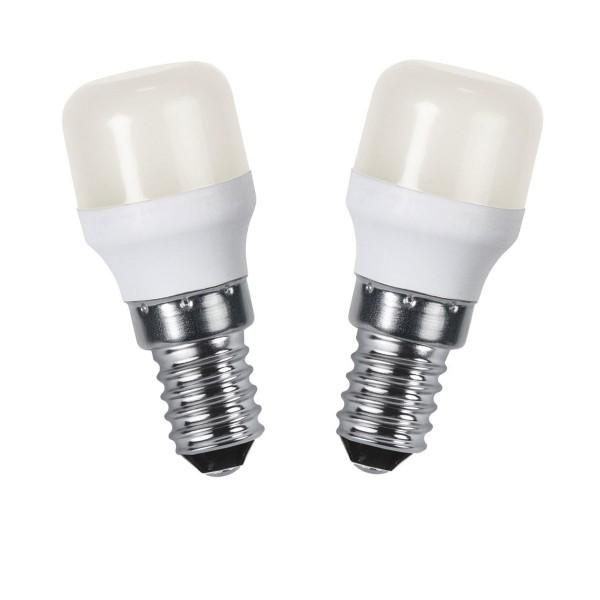 LED Leuchtmittel - Opaque - E14 - 1,5W - WW 3000K - 130lm - 2er Set