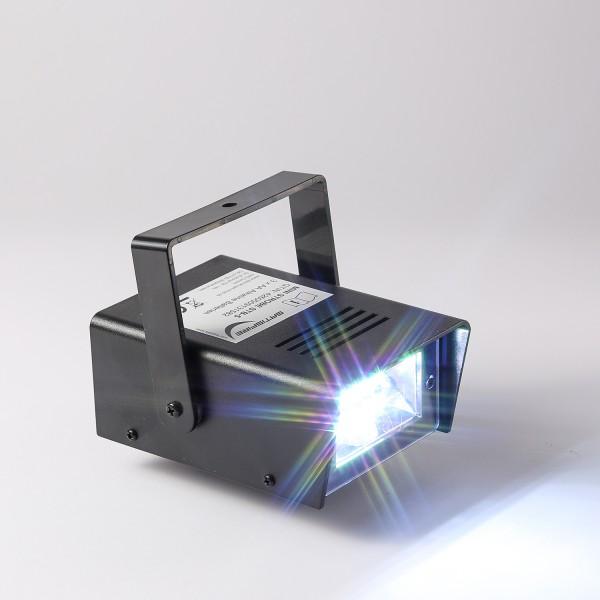 Mini LED Stroboskop - Batteriebetrieb - Geschwindigkeitsregelung