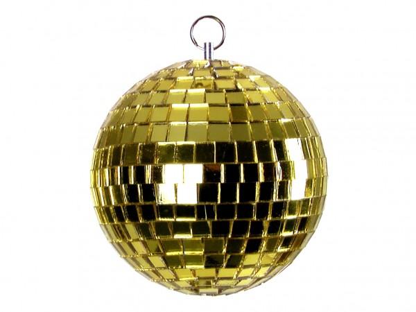 Spiegelkugel 5cm gelb- Discokugel Echtglas zur Dekoration