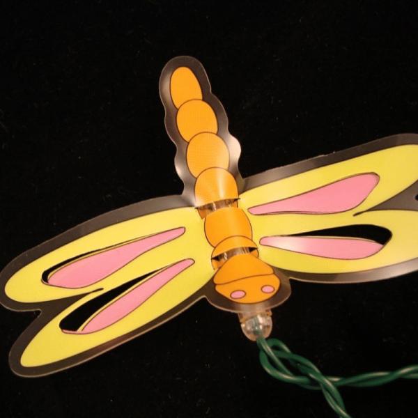 Lichterkette - Kids Line Outdoor - 7,25m - 40x Warmweiß - Libellen