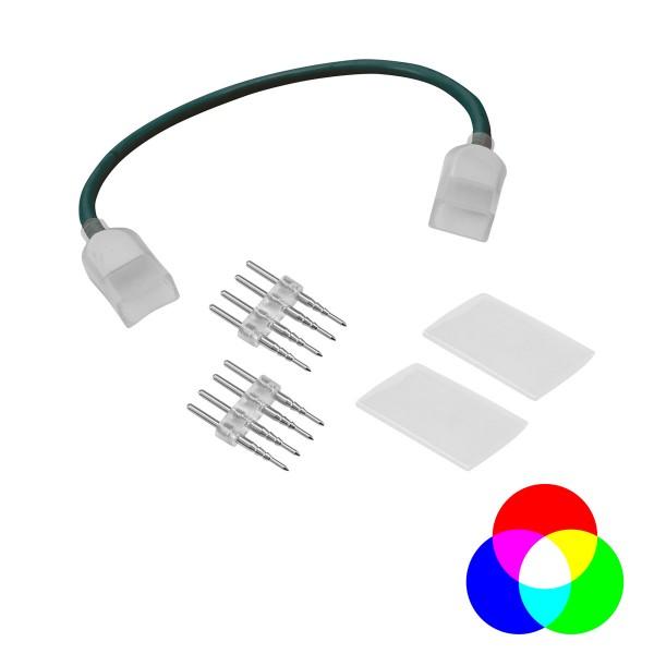 LED NEON FLEX 230V Slim RGB - flexibler Verbinder - Für Ecken und Durchführungen