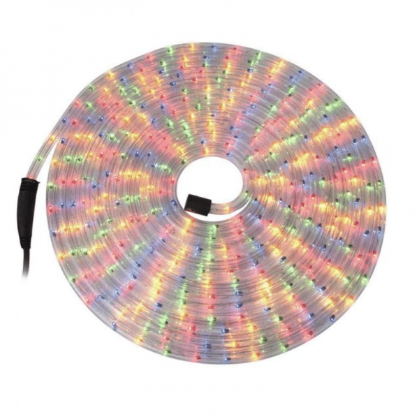 RUBBERLIGHT Lichtschlauch - Outdoor - RL1 - 180 Lampen - 9,00m - anschlussfertig - mehrfarbig