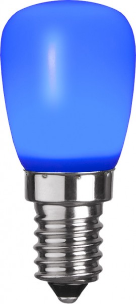 LED Leuchtmittel DEKOLED ST26 blau - E14 - 0,8W - 3lm