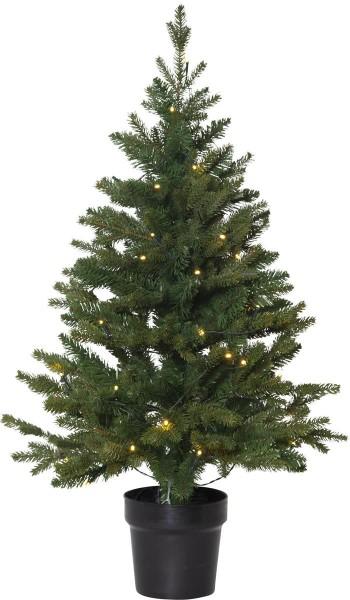 "LED-Tannenbaum ""Byske"" - 40 warmweiße LEDs - H.: 90cm, D: 55cm - Batterie - Timer - outdoor"